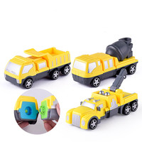 Assembly Engineering vehicles Toys plastic assembling blocks creative DIY puzzle Assembled model car toy children kids gifts new
