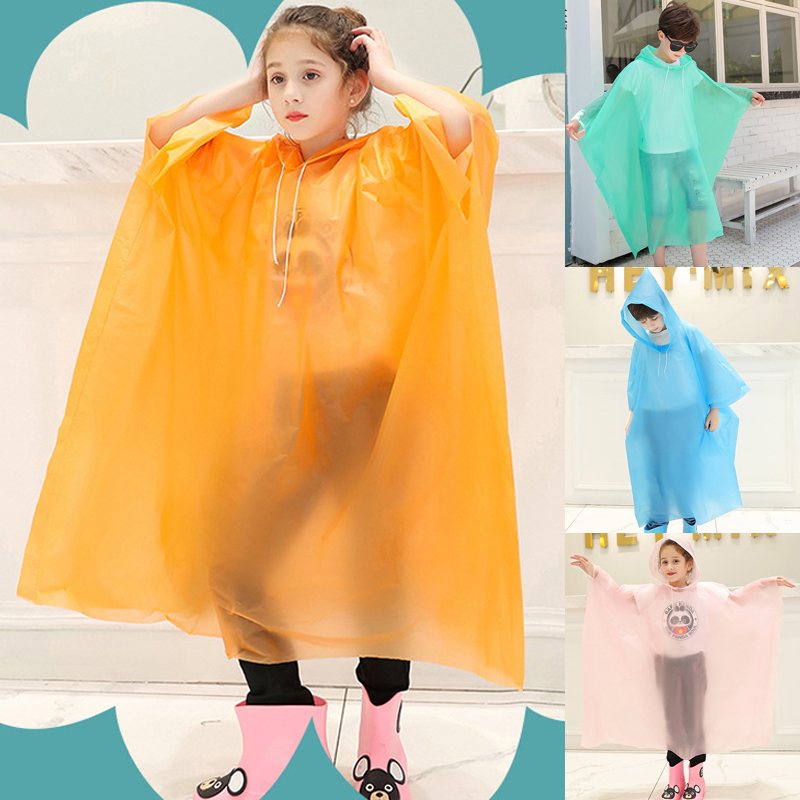 HOT Raincoat Children Funny Dinosaur Baby Kids Rainwear Cute Waterproof Rain UK