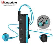 Langsdom номер BX10 Bluetooth наушники для телефона Беспроводной Шум отмена Наушники с микрофоном бас bluetooth Беспроводной гарнитура