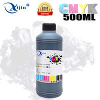 XIJIN 500ML Black refill ink compatible for all inkjet printers use in refillable ink cartridge and CISS dye ink