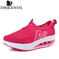 Fashion Women's Casual Shoes 2016 Summer Women Slimming Shoes Breathable Wedges Shoes Women Swing Shoes zapatillas mujer