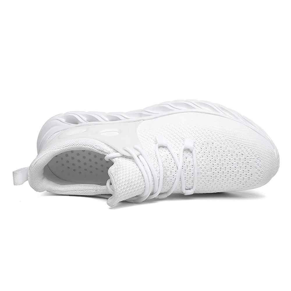 Obuwie sportowe do biegania buty mężczyzn off białe trampki oddychające lekkie wysokiej jakości trenerzy Fitness letnie buty męskie 2019 nowy