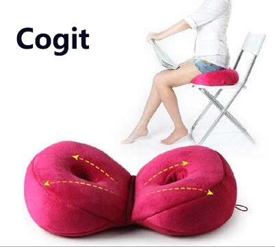 An Cogit Fold Memory Foam Posture Cushion Hip Ock Closebottom Seats Back Pain Office Chair Orthopedic