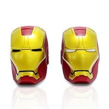 Marv Super Hero Avengers Iron Man Cute Coin Bank Black White Eyes Piggy Bank Money Saving Box Money box Figure Box Toy 14*10cm