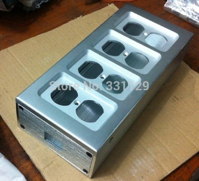 BRZHIFI المتحمسين 8 صندوق الطاقة الألومنيوم