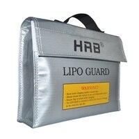 HRB 240x65x180mm Feuerfeste RC LiPo Batterie Tragbare Explosion Proof Safety Bag Safe Guard Lade-in Teile & Zubehör aus Spielzeug und Hobbys bei