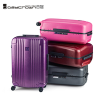 Daycrown 20 inch polycarbonate rolling suitcase ladies men's boarding business travel bag Tsa one button unlock