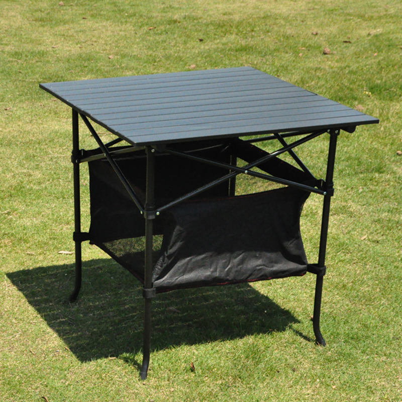 Outdoor Draagbare Klaptafel Aluminium Park Leisure Camping barbecue Tafel dragende 80KG