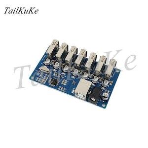 Image 5 - Usb разветвитель 1 7 портов, usb концентратор с 7 портами, usb разветвитель с блоком питания и расширением USB2.0