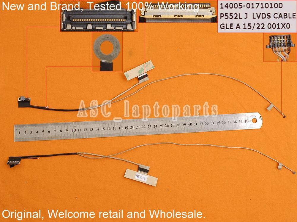 new original free shipping lcd led video flex cable for asus p552ljnew original free shipping lcd led video flex cable for asus p552lj p2520la p552la p552sa p552sj 30pin 14005 01710100