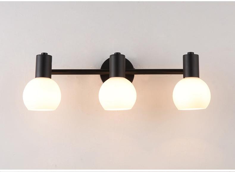 ФОТО Headlight toilet bathroom ark of dresser lens ark lighting retro bedroom mirror LED wall lamp Wall Lamp