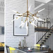 Modern Design Led Lamp Ceiling Chandeliers Living Room Bedroom Dining Room Light Fixtures Lustre Decor Home Lighting G9 110-220V