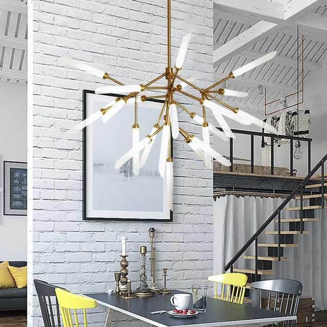 Cheap Modern Design Led Lamp Ceiling Chandeliers Living Room Bedroom Dining Room Light Fixtures Lustre Decor Home Lighting G9 110-220V