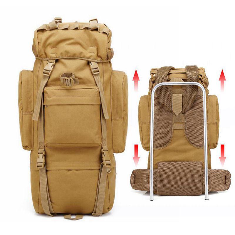 Militaire tactique sac à dos étanche hommes Sports de plein air randonnée Camping sac voyage sac à dos armée épaule Nylon sac 9 couleurs