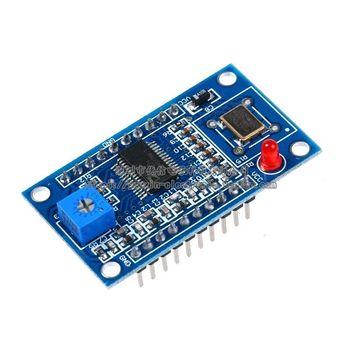 AD9851 DDS генератор сигналов модуль 0-70 МГц 2 синусоиды и 2 прямоугольную волну >> Survy2014 Store