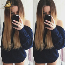 Glueless Ombre Lace Front Human Hair Wigs Ombre Full Lace Human Hair Wigs For Black Women Ombre Wigs