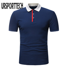 URSPORTTECH Brand Mens Polo Shirt Men 2019 New Summer Fashion Casual Short Sleeve Shirts Slim Fit Comfortable Homme