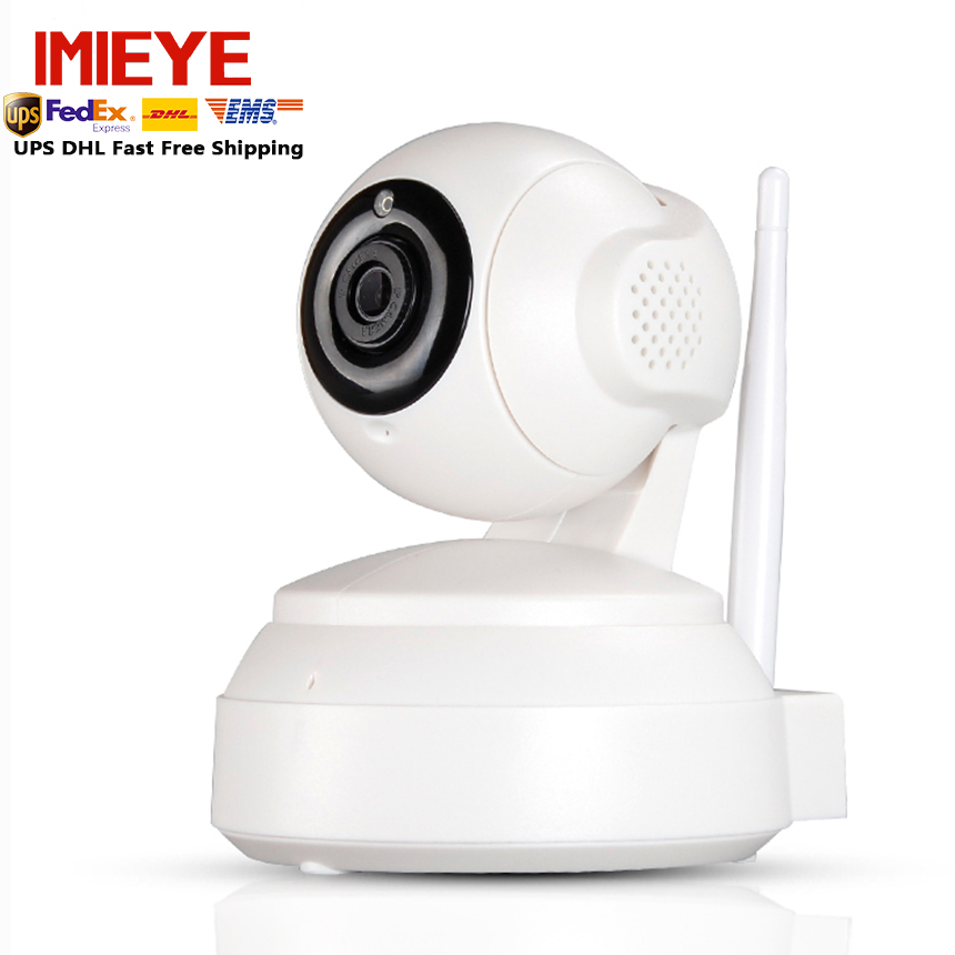 IMIEYE Wifi Camera IP Network CCTV Security Wireless Surveillance Cam With IR Night Vision Alarm Audio iOS Android Pan Tilt Zoom