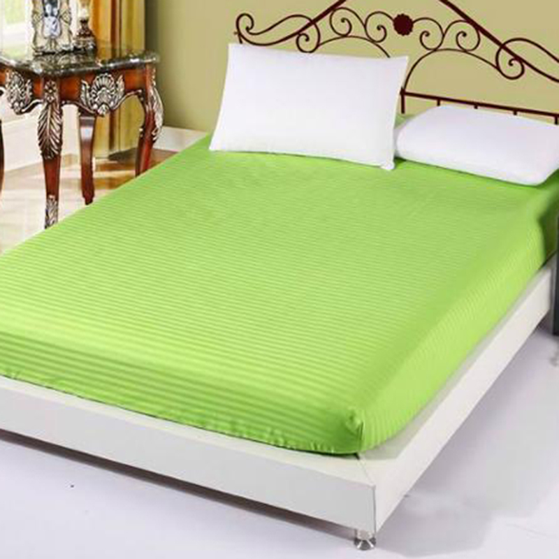Bed Fitted Sheets 100% Satin Cotton White Bed Sheet,Single/Twin/full/queen/king  Fitted Sheet Bed Linen, Bed Mattress Cover In Sheet From Home U0026 Garden On  ...