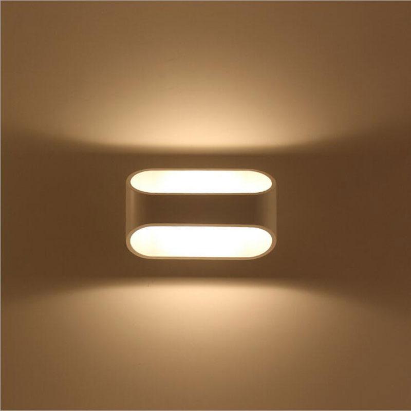 आधुनिक 5W एलईडी वॉल लाइट - इंडोर लाइटिंग