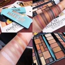 EyeShadow Palette 16 Colors Shimmer Matte Glitter Makeup Cosmetic maquiagem paleta de sombra