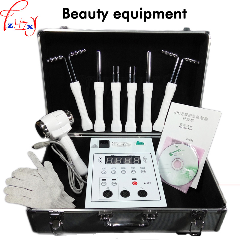 B-809 BIO-energy-free-energy Live-cell Machine Face Lift Skin Machine Cold And Hot Hammer Whiten The Face Beauty Instrument 220V