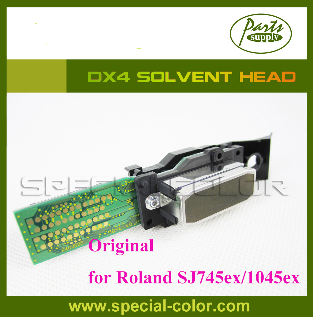 Roland DX4 Eco Solvent Printhead from Japan- Roland SJ745ex/645ex/545ex/1045ex (Get 2pcs DX4 Small Damper free) new and original dx4 printhead eco solvent dx4 print head for epson roland vp 540 for mimaki jv2 jv4 printer