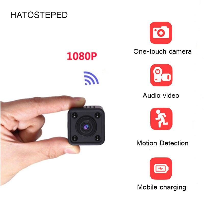 Мини Wi-Fi камера 1080 P HD удаленного воспроизведения видео Малый micro cam обнаружения движения Ночное видение домашний монитор 64 г мини видеокамер...