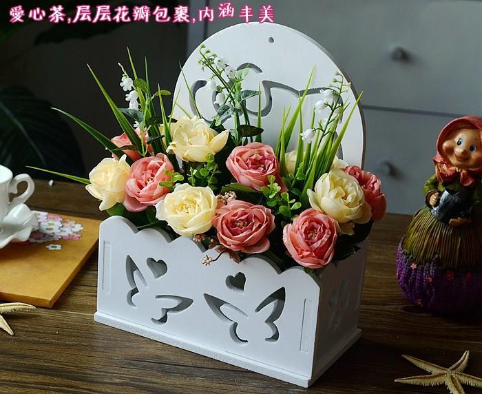 Flowers Silk Flower Corsage Decoration