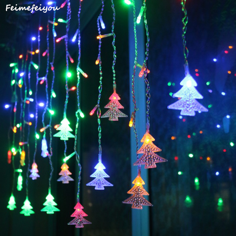 Feimefeiyou Garden outdoor decoration 3.5m 96 leds 5m 216 leds - Holiday Lighting