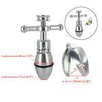 Erotic Accessorie Metal Anal Plug Adjustable Dilator Openable Anal Plugs Heavy Anus Beads Smooth Butt Plug Sex Toys For Women