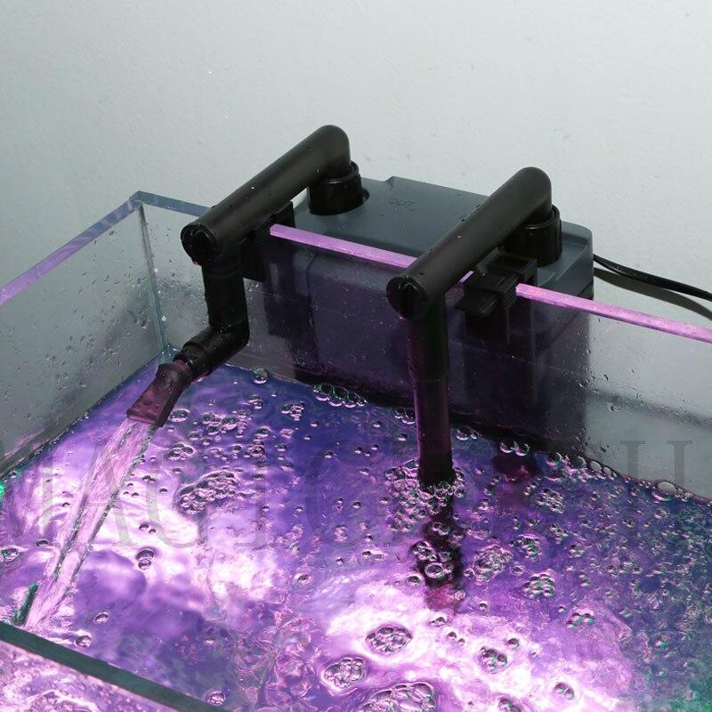 Sunsun External Canister Filter Table Top Aquarium Fish Tank Mini Aquarium External Canister Filter better than HW602B HW603B 2