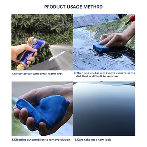 Image 1 - Auto Care Car Wash Tool Detail Magic Car Truck Cleaning Mud Clay Bar 100g Auto Cleaning Tool Reliable Decontamination Ability
