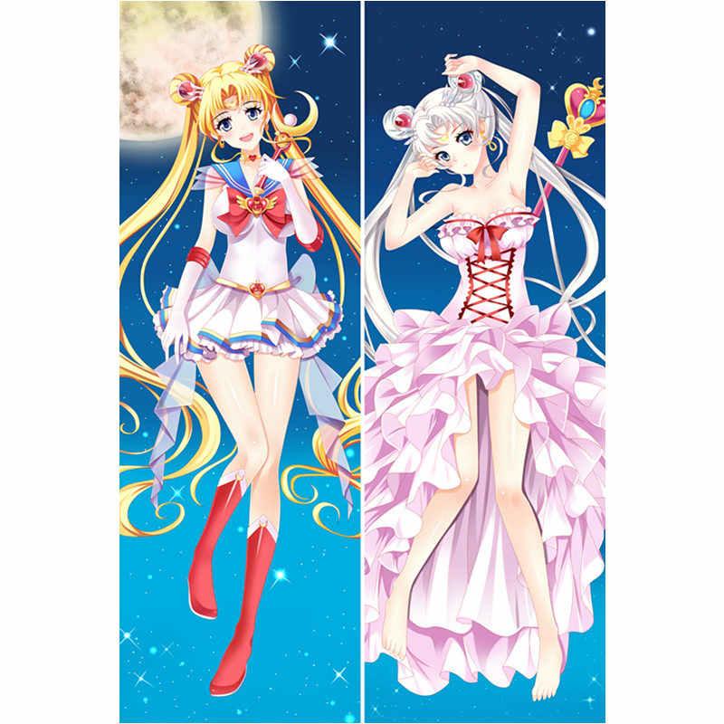 Anime Sailor Moon Sailor Mercury Dakimakura Pillow Case Cover Hugging Body