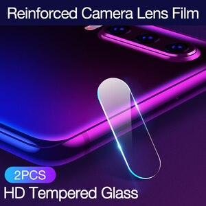 Image 5 - CAFELE kamery osłona obiektywu dla huawei p30 pro 2 PCS szkło hartowane dla huawei p30 pro powrót Camera ochronne pełne Slim okładka