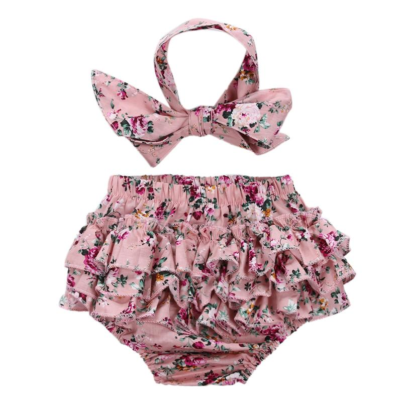 Aliexpress Com Buy 2pcs Infant Floral Baby Girls Clothes