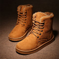 Brand New Fashion Winter Shoes Men's Winter Suede Boots For Man Male Snow Boots Botines Mujer Chaussure Femme