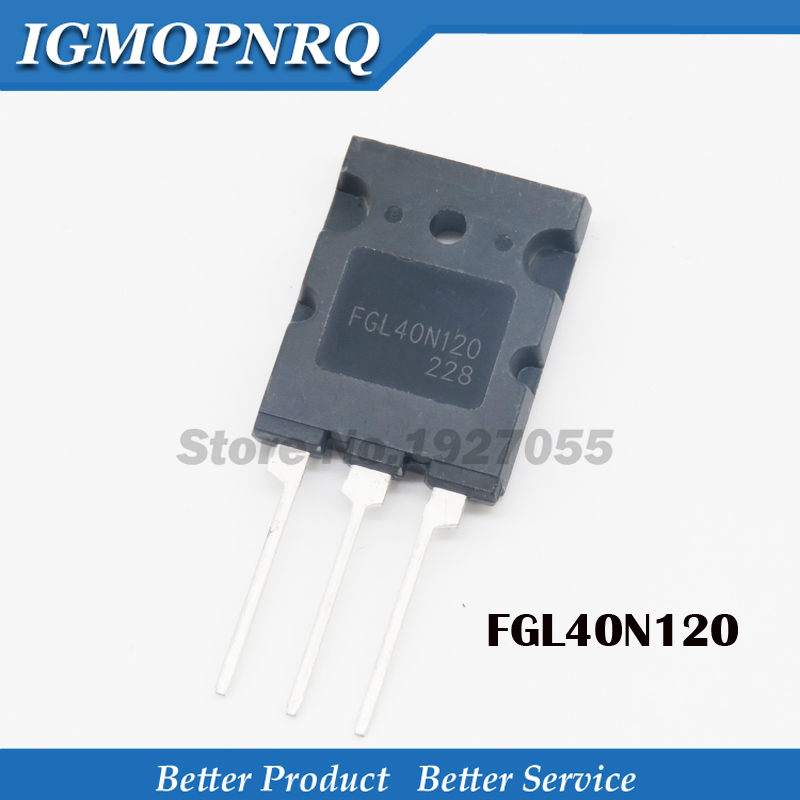 2pcs FGL40N120AND 40A/1200V <font><b>40N120</b></font> FGL40N120 TO-3PL FGL40N120 NEW original image