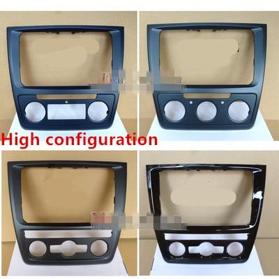 Car Styling 14/15/16  FOR Skoda Yeti DVD Navigation Retrofit Face Frame Conversion Panel Box Wild Emperor