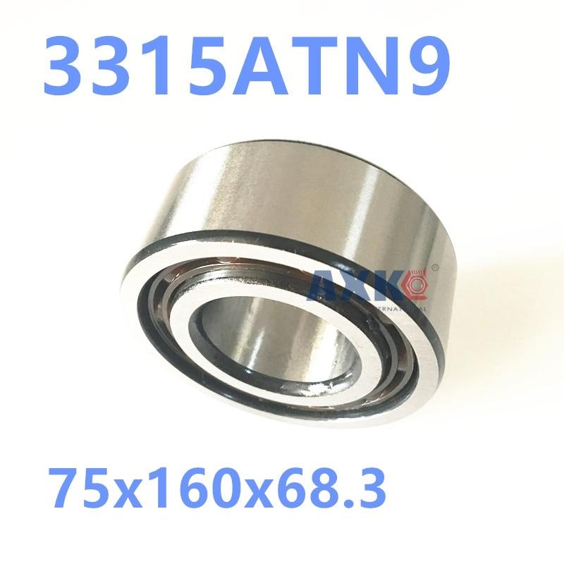 1PCS 3315ATN9 3315 3315A 5315 75x160x68.3 3315-B-TVH 3056315 3315B Double Row Angular Contact Ball Bearings  AXK  Bearing