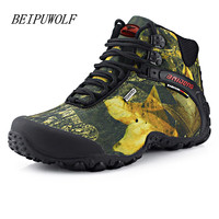 2016 New Fashion Men S Plus Size 40 46 Winter Waterproof Hiking Shoes Anti Skid Mountain