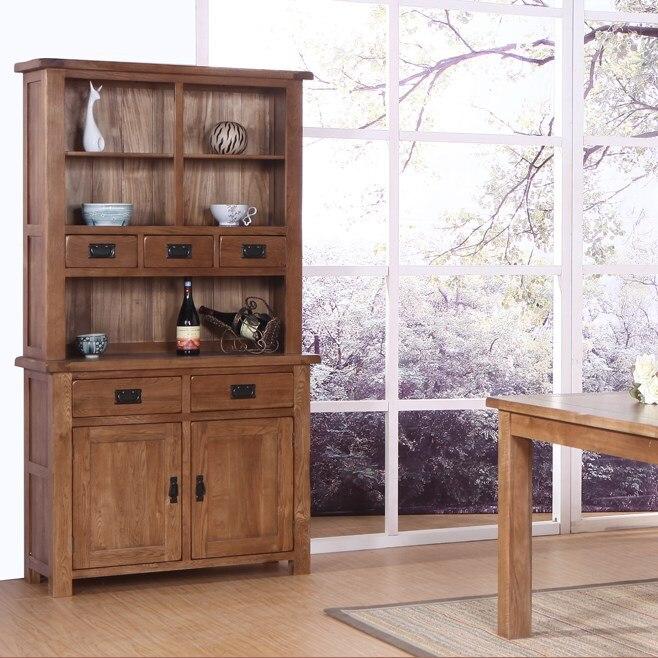 Solid Wood Sideboard Small Wine Cupboard Lockers Ikea Kitchen