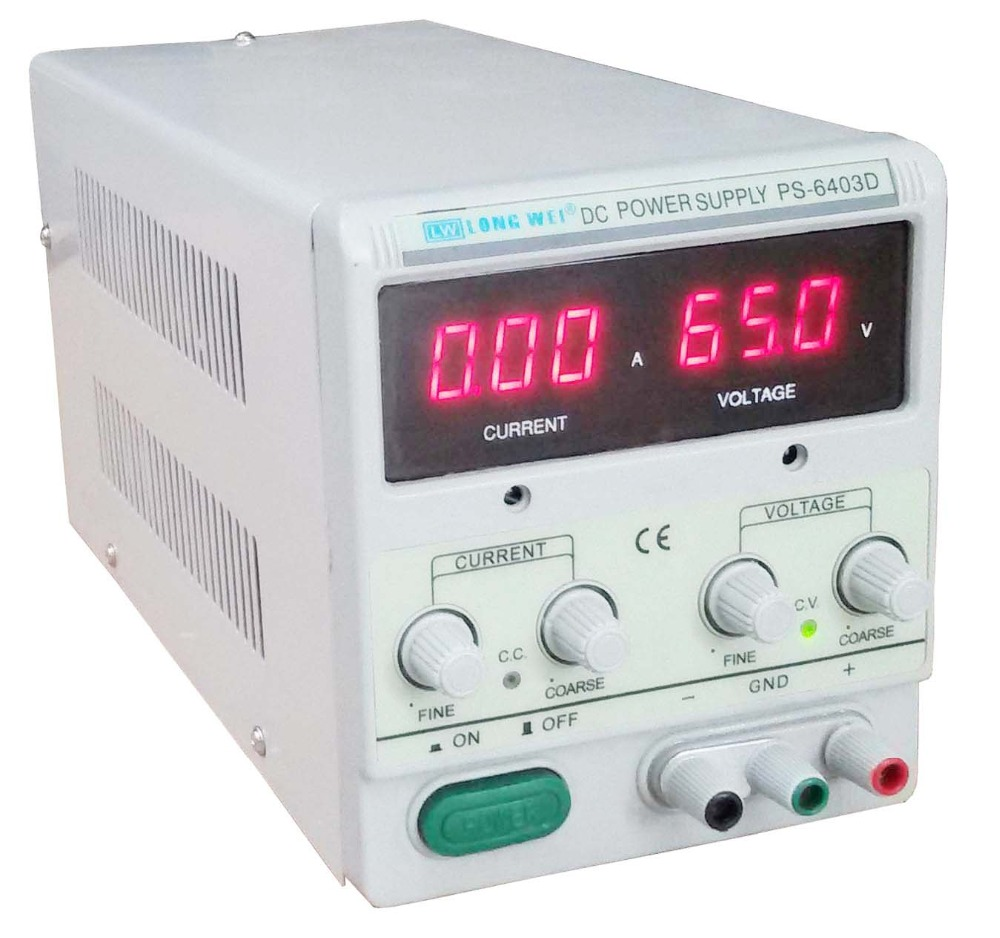 Оригинальный Высокая точность однофазный Выход 64V/3A Регулируемый Импульсный Напряжение цифровой регулятор постоянного тока Питание для ла