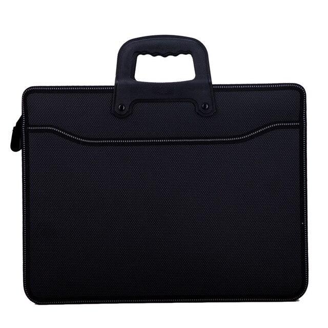 עסקים custom A4 רוכסן גברים מסמך שקיות קיבולת גבוהה נייד קובץ תיקייה/מקרה עבור מסמכים/הגשה