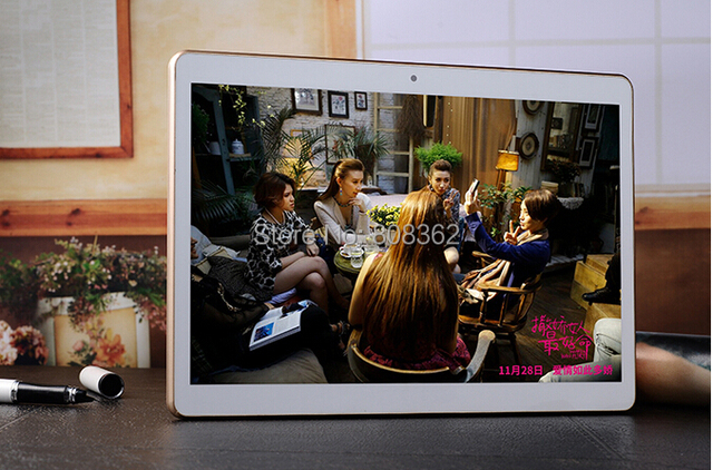 DHL free shipping 3G 9.6» Tablet PC 10 MTK8752 Quad Core Phone 5.0 Mp camera Call IPS Screen GPS Android 5.1 4GB 64GB