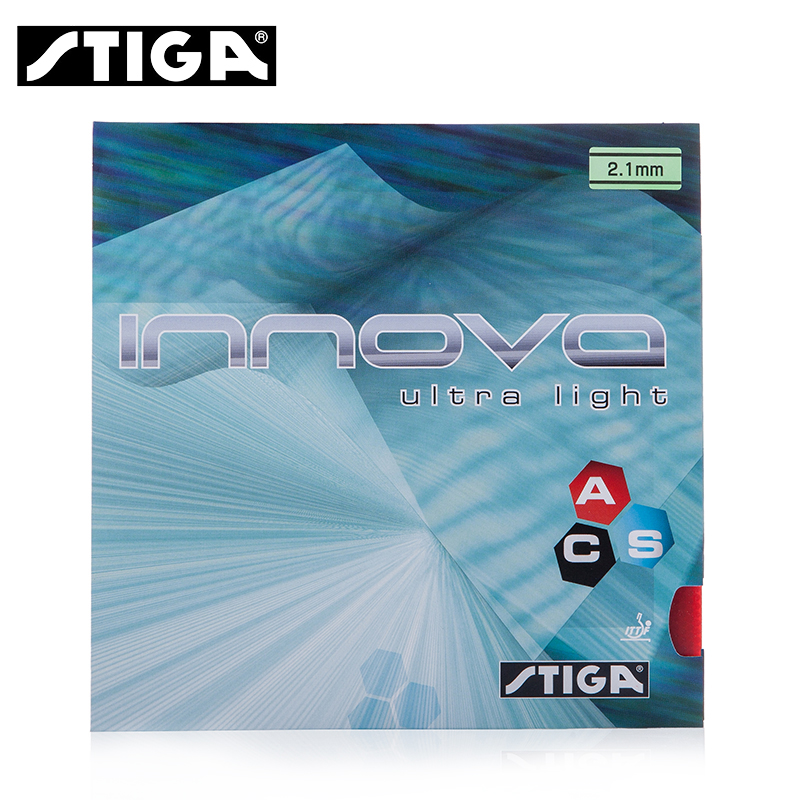 ФОТО Stiga Original INNOVA ULTRA LIGHT ACS Pips-In Table Tennis Rubber Pimples In Ping Pong Rubber
