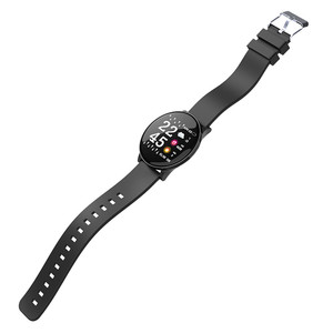 Image 2 - W8 Smart Watch Waterproof Men Women Blood Pressure Heart Rate  Monitor Weather Forecast Fitness Sport Smartwatch For Android IOS