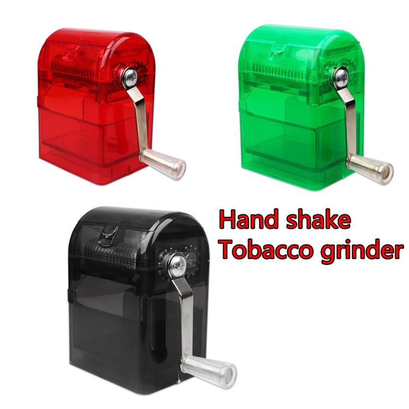 aeProduct.getSubject()  Smoking Shredder Hand Crank Crusher Tobacco Cutter Grinder Hand Muller Shredder Smoking Case drop transport HTB19BsDf2NNTKJjSspcq6z4KVXaJ