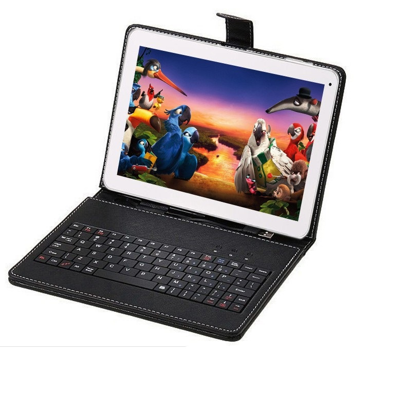 все цены на 10 inch Original Design 3G Phone Call Android 7.1 Quad Core IPS pc Tablet WiFi 32G 64G 7 8 9 10 android tablet pc keyboard