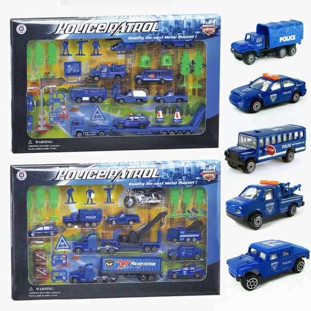Alloy police car models, a police car toys 110 rescue vehicle model, vehicle model. Children's toy cars.